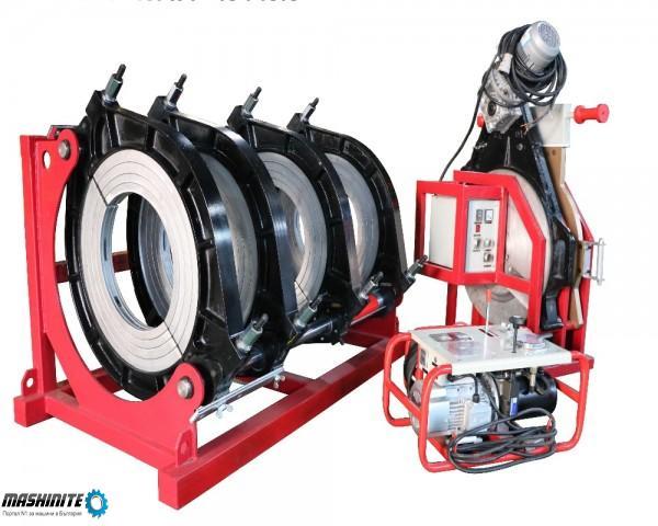 Машина за челно заваряване на тръби