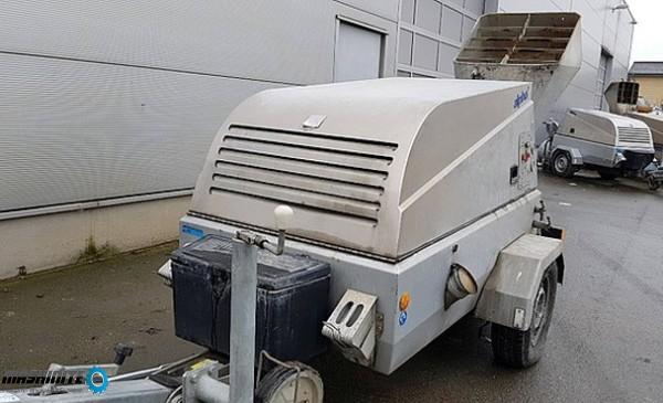 машина за замазка земно-влажна