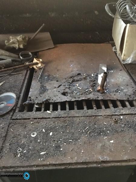 Електрожен 3- фазенКракра и метална маса тязгях за з ...