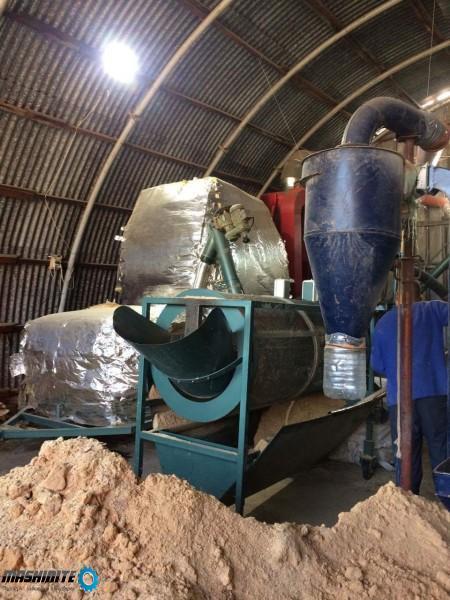 Сито за пресяване на материала при производство на п ...