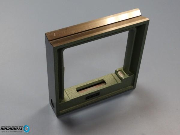 Машинен рамков нивелир 200x200 mm