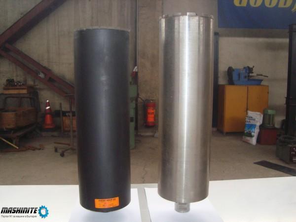 Диамантени боркорони Ф160 дължина 520мм.