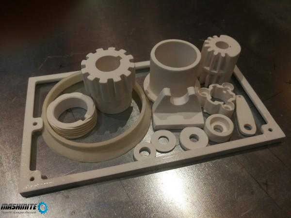 Изработка на пластмасови детайли, втулки, скоби, пал ...