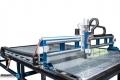 CNC/ЦПУ Рутер триосен за фрезоване на еталбонд, пластмаса, фасадни облицовки с вакуум маса