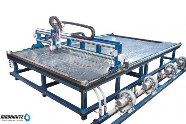 CNC/ЦПУ Рутер триосен за фрезоване на еталбонд, плас ...