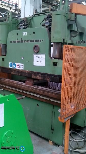Продавам CNC хидравлична преса /abkant/ WEINBRENNER