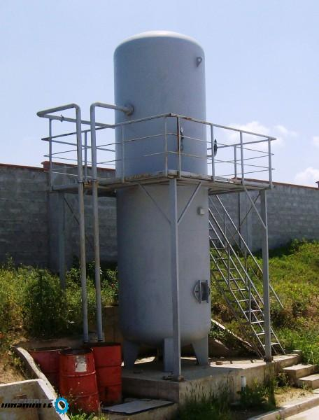 Резервоар за сгъстен въздух