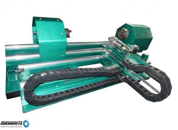 ЦПУ струг за производство на барокови детайли 3D CNC