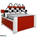 CNC Router Рутер ЦПУ фреза 4 Шпиндела от Китай. Реклама сувенири интериор мебели