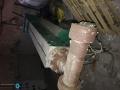 Продавам екструдер ф90 за LDPE/PP