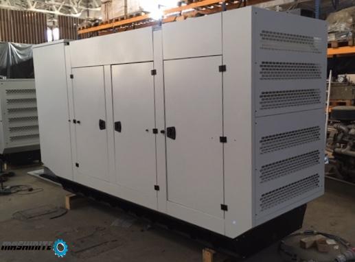 Дизелов генератор агрегат 330kVA , MAN & MARELLI