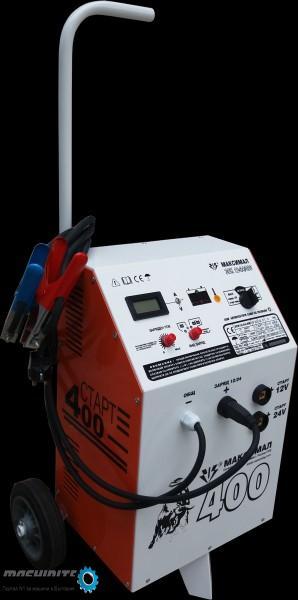 Зарядно-стартерна количка 12V/24V-400A