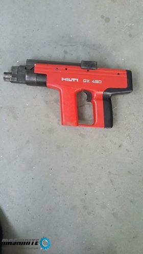 Пистолет  за  директен  монтаж   HILTI    DX 450