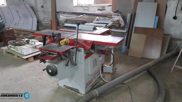 Пет операционна дървообработваща машина
