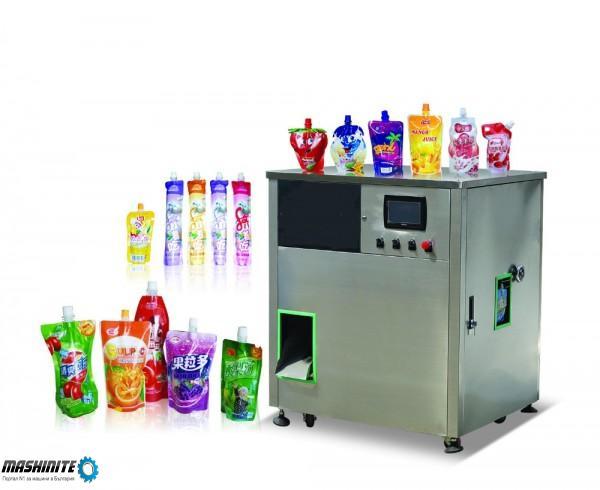 Дойпак пакетираща машина за течни продукти