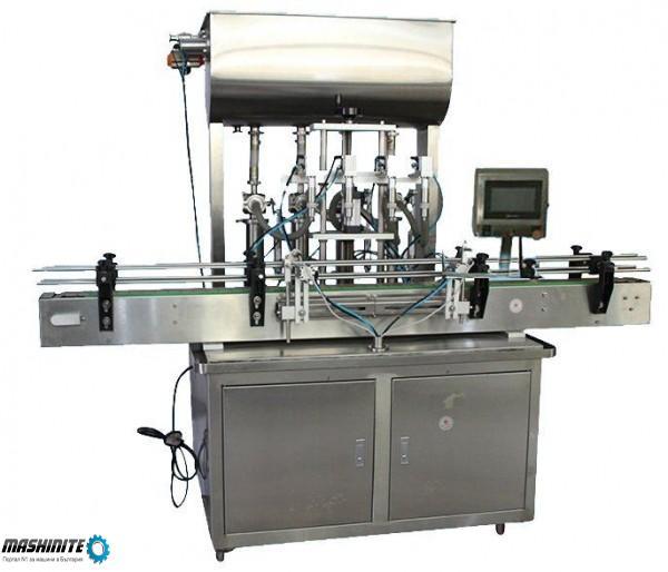 Напълно автоматична машина за пълнене на течности
