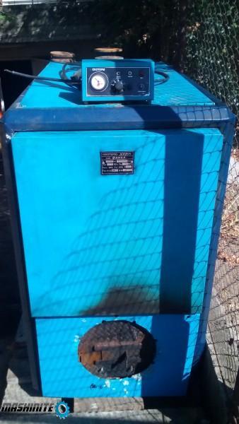 Водогреен котел на течно гориво и природен газ
