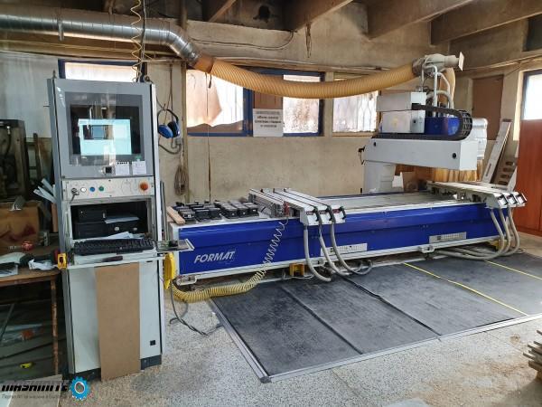 CNC Format 4 profit 3 дървообработващ център