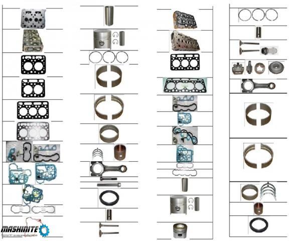 Kubota Резервни части задвигатели