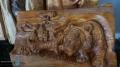 CNC / ЦПУ Рутер 1800/1500 с хибридни мотори, подсилен за дърворезби, фрезоване