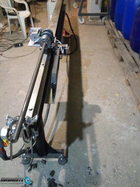 Продавам CNC машина за плазмено рязане на тръби до ф ...