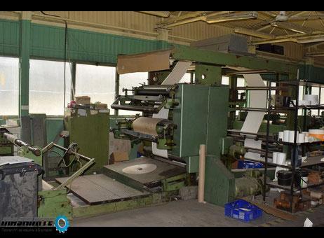 употребявана флексопечатна машина Fischer & Krecke  ...