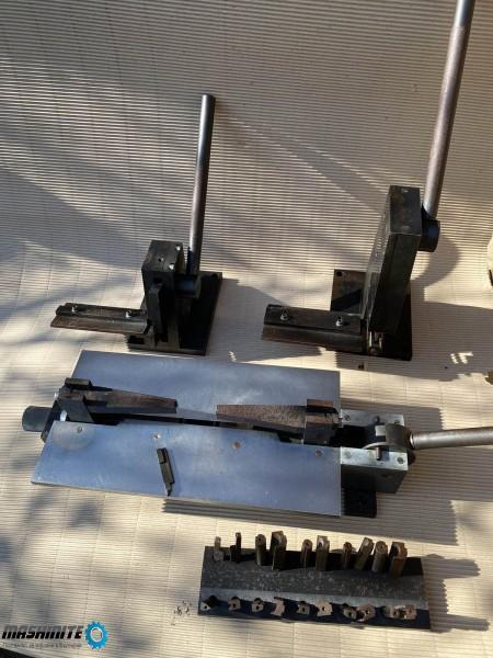 Ръчни машини за изработка на матрици ( щанцформи )