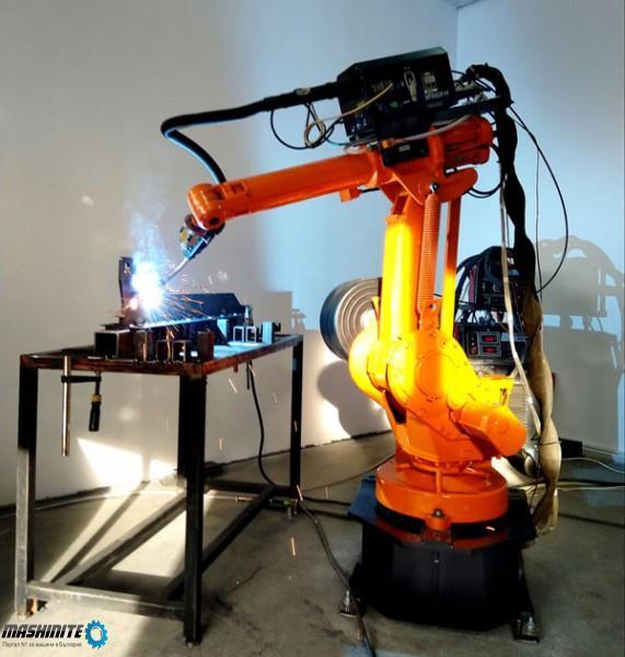 Роботизирано Заваряване с роботи на конструкции и из ...