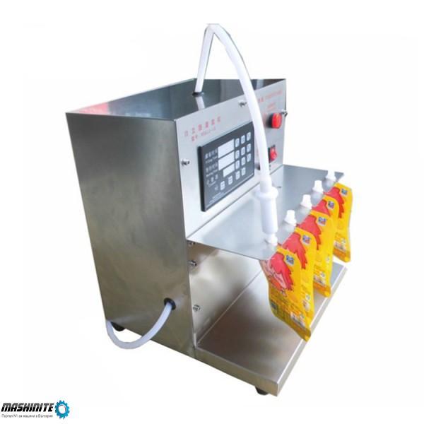 Полуавтоматична дойпак пакетираща машина за течни пр ...