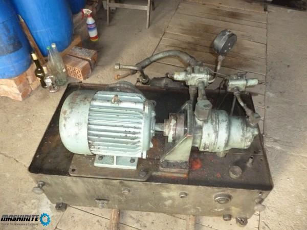 Резервоар за хидравлика с ел.мотор