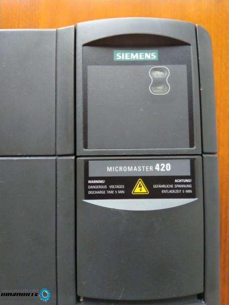 Инвертор SIEMENS 420 честотен преобразувател