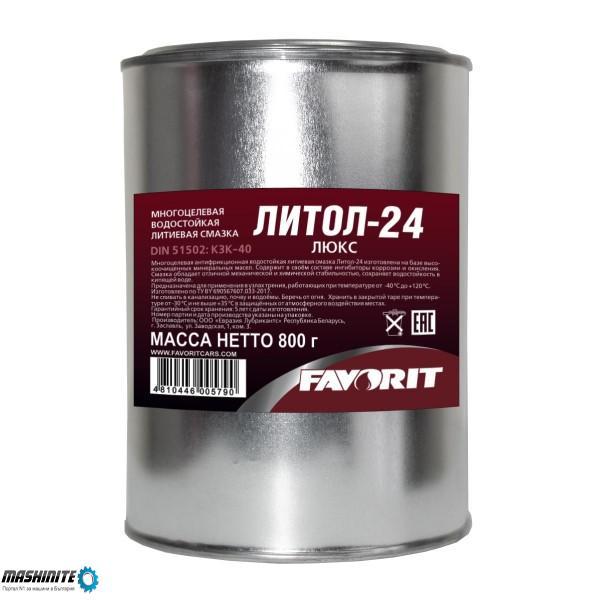 Литиева грес Favorit Литол-24, 18 кг