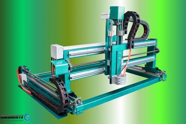 Мощен CNC Рутер / Фреза за мебели, реклама, дърв ...