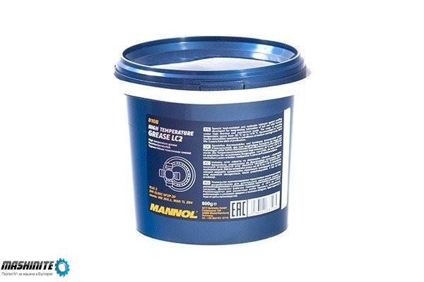 Високо температурна грес Mannol LC-2 (синя), 4.8 кг