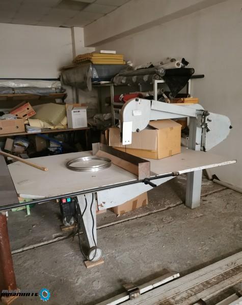 Банцинг машина с плот за текстил и дунапрен