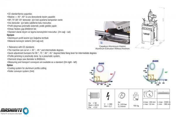 Едноглав циркуляр с горно подаване на диск и Автомат ...