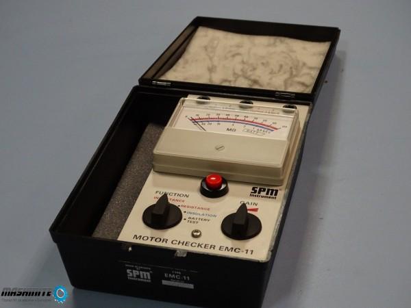Уред за проверка на ел.двигатели Motor Checker EMC-1 ...