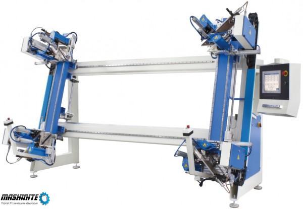 Автоматична четириглава залепваща машина (Вертикален ...