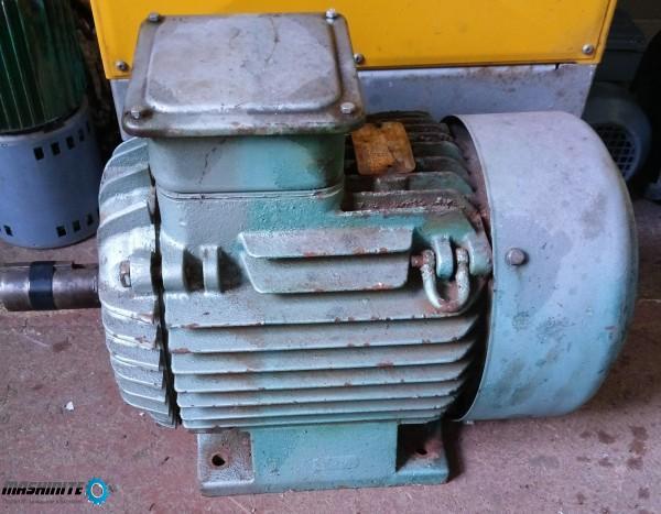 Трифазен асинхронен двигател FA132MX4/PE  7.5 KW ,14 ...