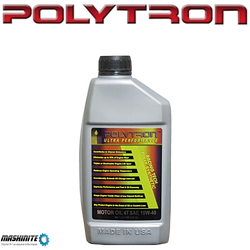 POLYTRON RACING 4T SAE 10W40 - Синтетично масло за м ...