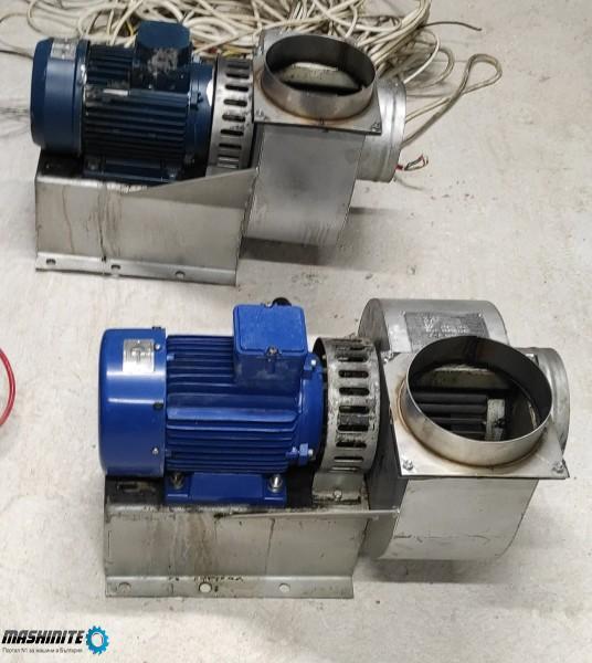 Електродвигател с аспирация