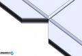 Ръчна пневматична щанца за рязане на 90° еталбонд