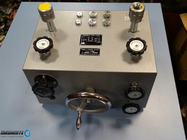 Стенд за манометри Press and Vacuum Tester NAGANO KE ...